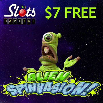 Alien Spinvasion Slot - Play for Free With No Download