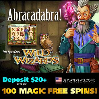 Wild Wizards Slot Free Bonus