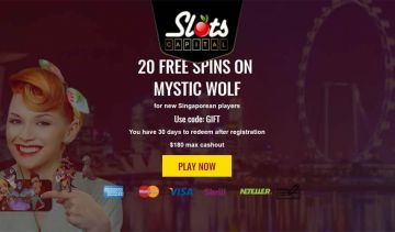 Live In Singapore? Check these online casino offers!