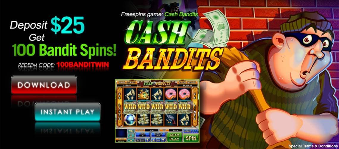 Cash Bandits Free Bonus