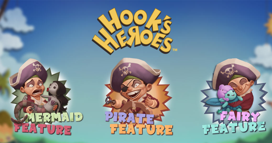Play Hook's Heroes Online Slots at Casino.com South Africa