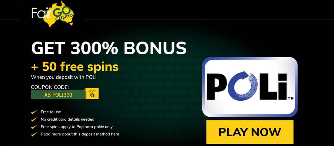 Fair Go Casino Now Offers Bpay And Poli Deposit Methods For