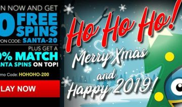 Have a Sloto'Cash Christmas with a Free Spins Bonus