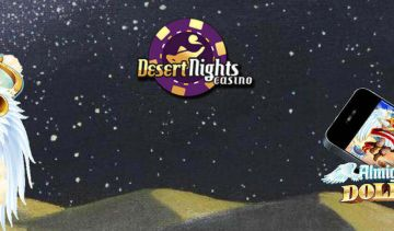 A review of the US player friendly Desert Nights Casino