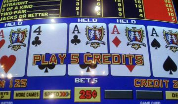 Is video poker a good substitute for slots?