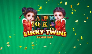 Lucky Twins slot's free spins bonus game includes random multipliers