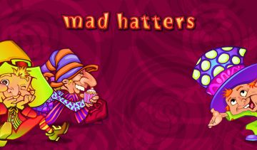 The Mad Hatter inspired this slot game