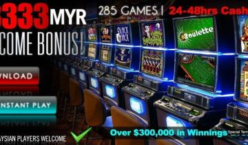 Malaysian players can enjoy a 33,333 MYR bonus at this casino!