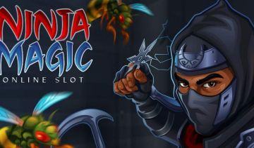 Win up to 40 free spins with 8x multipliers in the new Ninja Magic slots