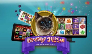 Win big with Expanding Symbols on the new Pretty Kitty slots