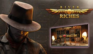 River of Riches offers Fixed Wilds and Indiana Jones adventures