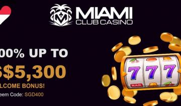 Singaporean casino players can claim a huge SG$5,300 bonus!