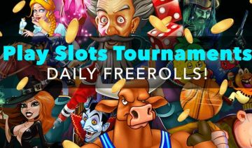 Three freeroll slots tournaments to play in April 2019!
