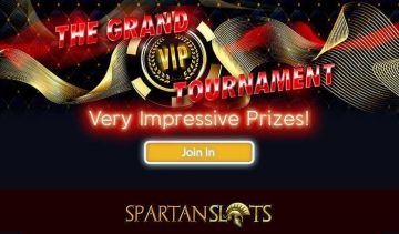 A review of Spartan Slots' many tournaments and slots races