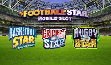 Sports themed Star-series slots from Microgaming