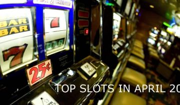Most popular slots by number of spins in April 2019