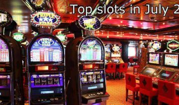 The most popular slots by number of spins in July 2019
