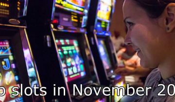Top slots per number of spins in November 2019